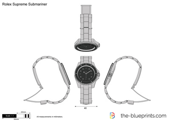 Rolex Supreme Submariner