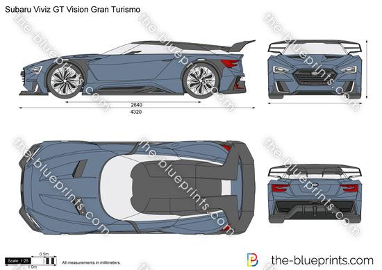 Subaru Viviz GT Vision Gran Turismo