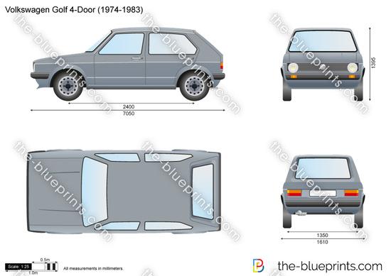 Volkswagen Golf 4-Door