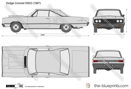 Dodge Coronet W023