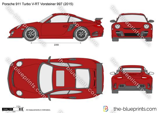 Porsche 911 Turbo V-RT Vorsteiner 997