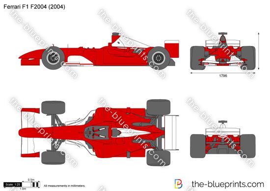 Ferrari F1 Formula 1 F2004