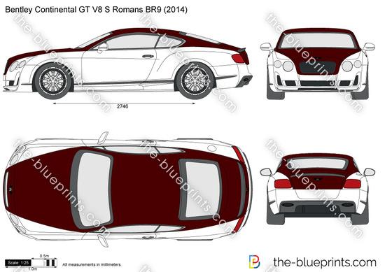 Bentley Continental GT V8 S Romans BR9