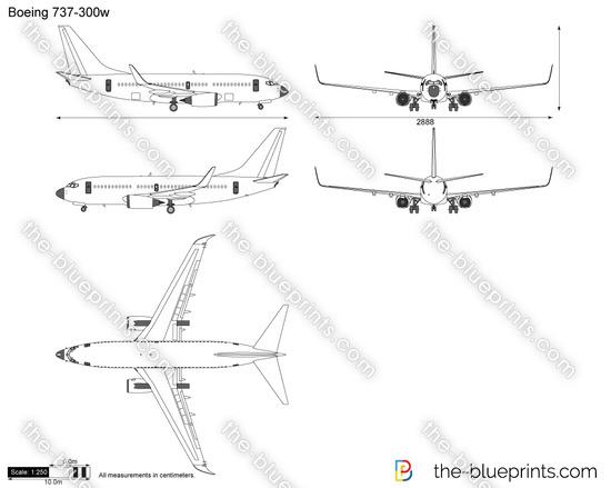 Boeing 737-300w