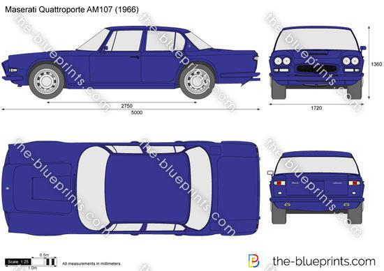 Maserati Quattroporte AM107
