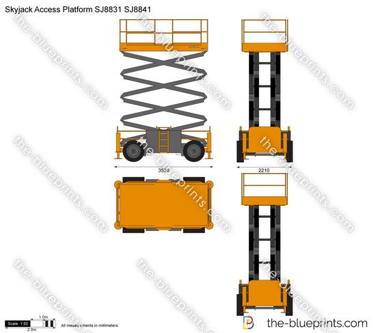 Skyjack Access Platform SJ8831 SJ8841