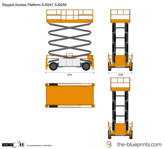 Skyjack Access Platform SJ9241 SJ9250