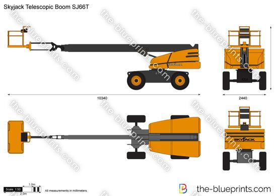 Skyjack Telescopic Boom SJ66T