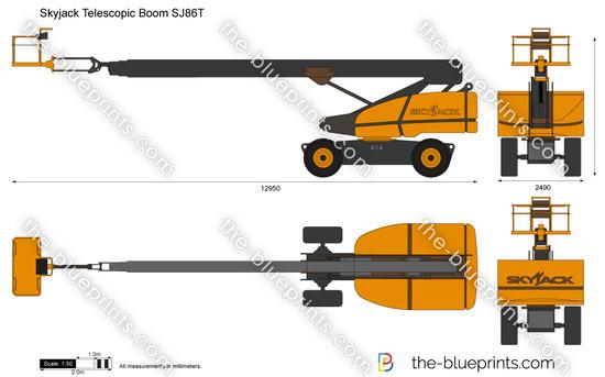 Skyjack Telescopic Boom SJ86T
