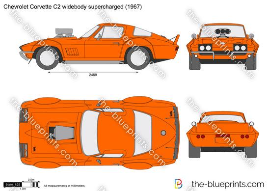 Chevrolet Corvette C2 widebody supercharged