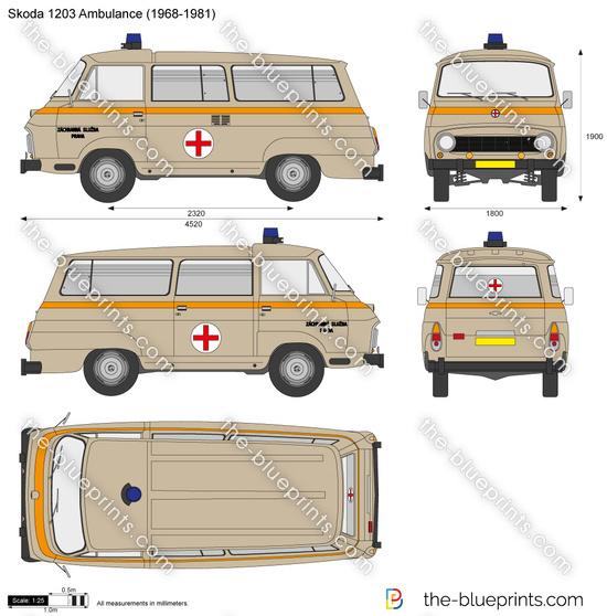 Skoda 1203 Ambulance