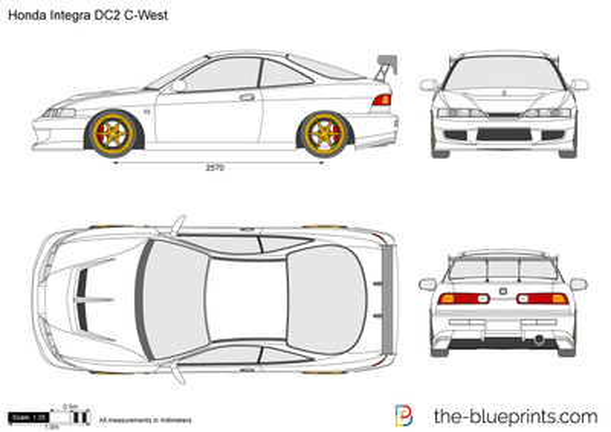 Honda Integra DC2 C-West