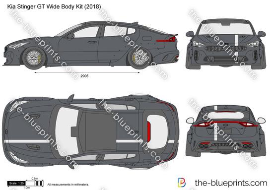 Kia Stinger GT Wide Body Kit