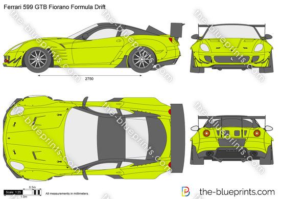 Ferrari 599 GTB Fiorano Formula Drift