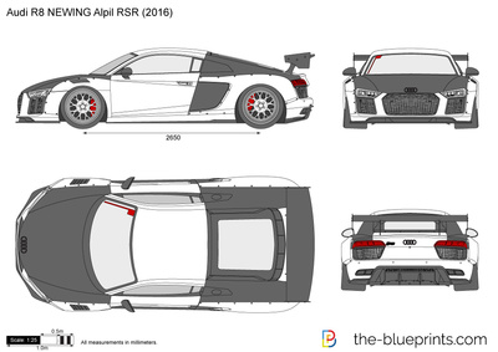 Audi R8 NEWING Alpil RSR