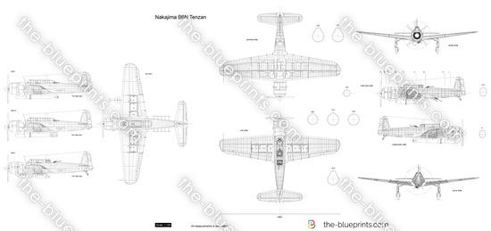 Nakajima B6N Tenzan