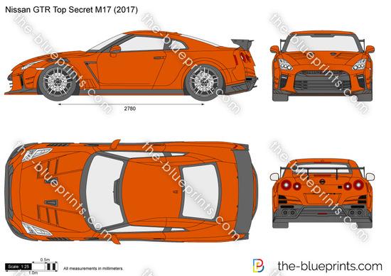 Nissan GTR Top Secret M17