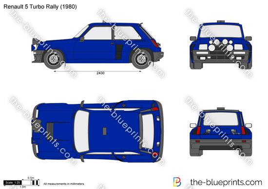 Renault 5 Turbo Rally
