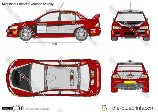 Misubishi Lancer Evolution IX rally