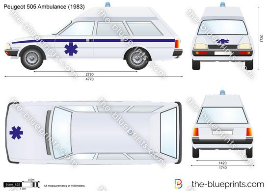 Peugeot 505 Ambulance
