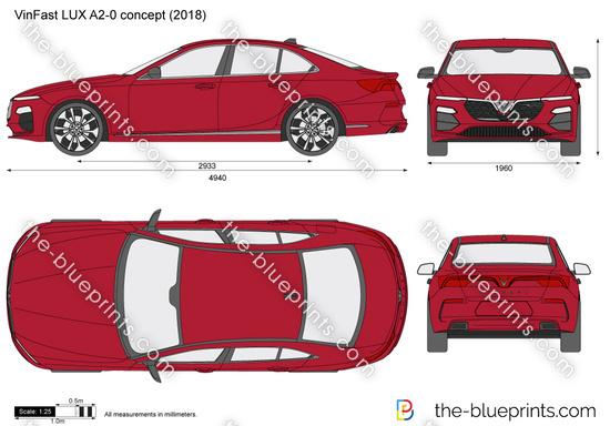 VinFast LUX A2-0 concept