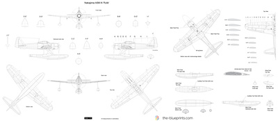 Nakajima A6M-N 'Rufe'