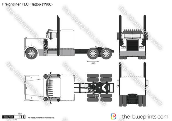 Freightliner FLC Flattop