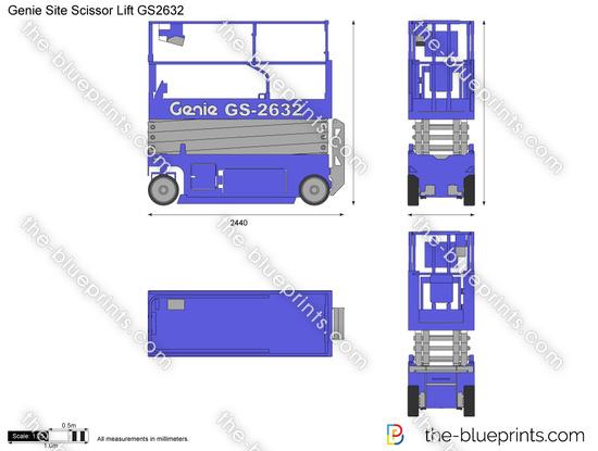 Genie Site Scissor Lift GS2632