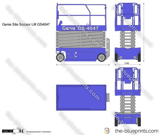 Genie Site Scissor Lift GS4047