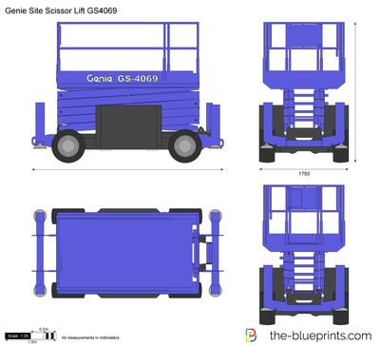 Genie Site Scissor Lift GS4069