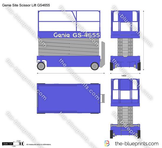 Genie Site Scissor Lift GS4655