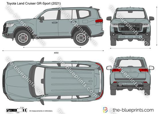 Toyota Land Cruiser GR-Sport