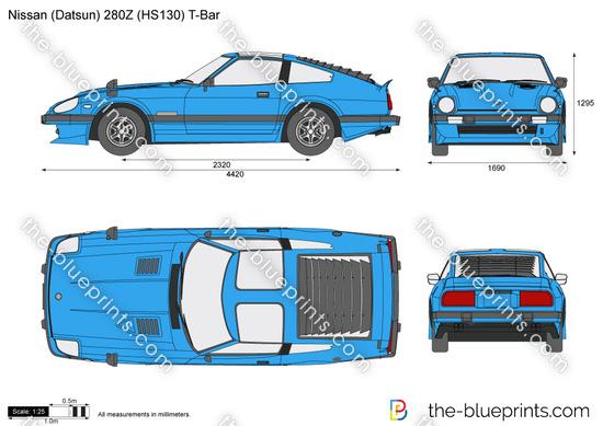 Nissan (Datsun) 280Z (HS130) T-Bar