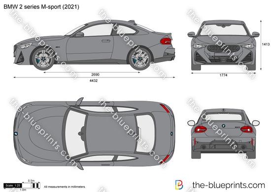 BMW 2-series M-sport