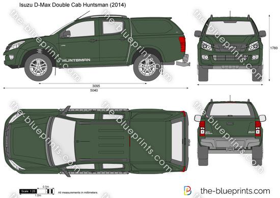 Isuzu D-Max Double Cab Huntsman