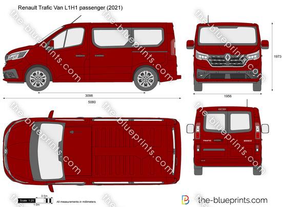 Renault Trafic Van L1H1 passenger