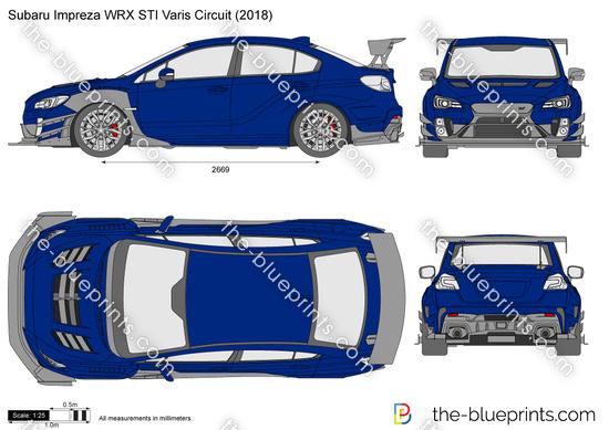 Subaru Impreza WRX STI Varis Circuit