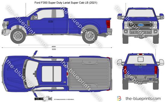 Ford F350 Super Duty Lariat Super Cab LB