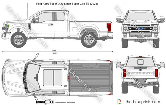 Ford F350 Super Duty Lariat Super Cab SB