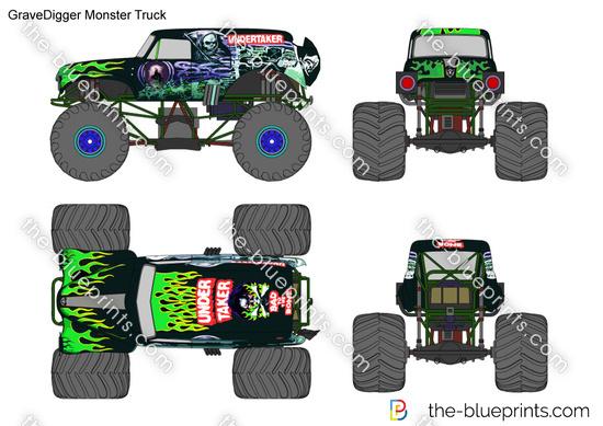 GraveDigger Monster Truck