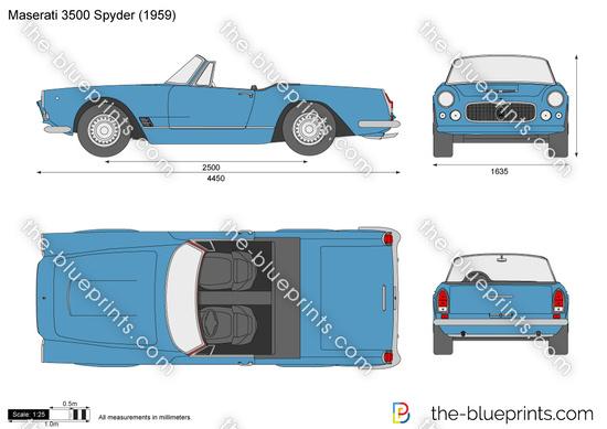 Maserati 3500 Spyder