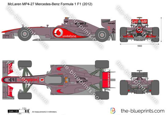 McLaren MP4-27 Mercedes-Benz Formula 1 F1