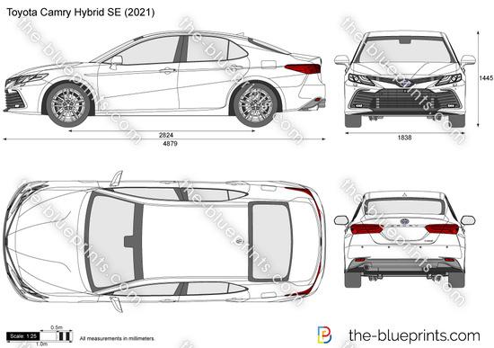 Toyota Camry Hybrid SE