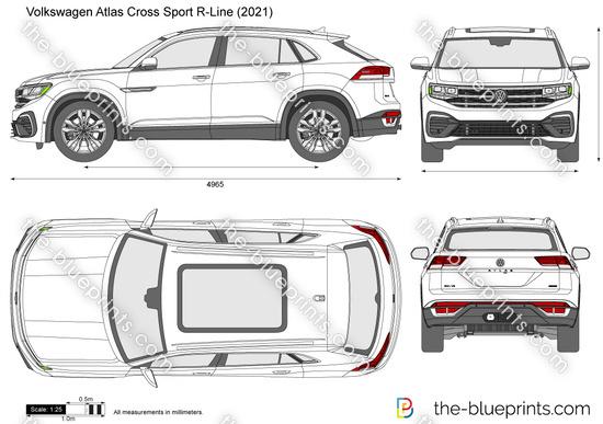 Volkswagen Atlas Cross Sport R-Line