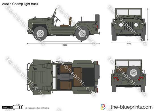 Austin Champ light truck
