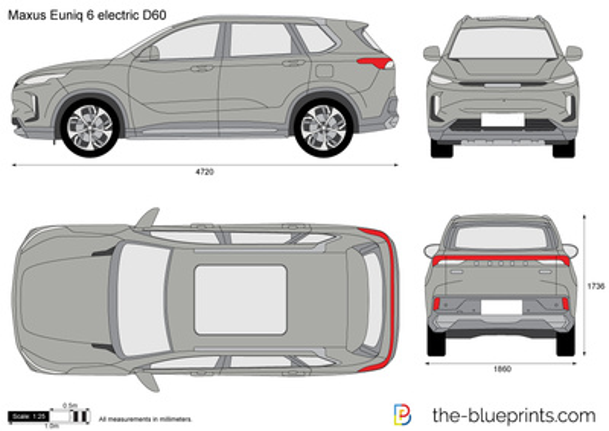 Maxus Euniq 6 electric D60