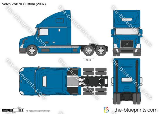 Volvo VN670 Custom