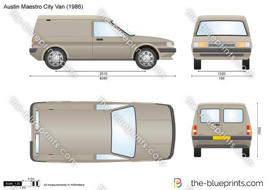 Austin Maestro City Van