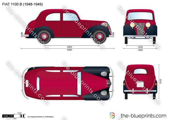 FIAT 1100 B