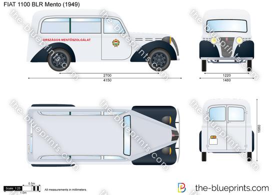 FIAT 1100 BLR Mento